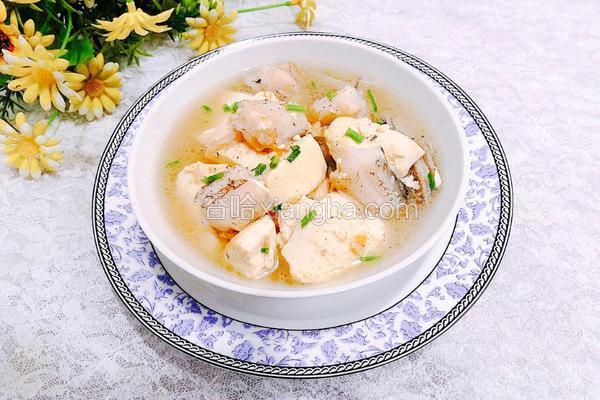 龙头鱼烩豆腐
