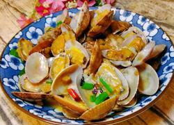 葱姜炒花甲