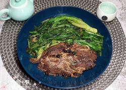 豆豉酥鱼油麦菜