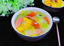 白菜玉米清脂养颜汤