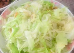 虾仁包菜炒粉丝