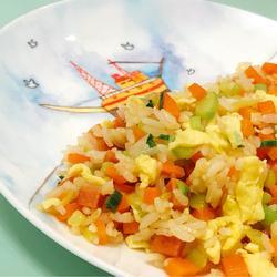 彩虹炒飯的做法[圖]