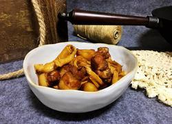 油腐乳红烧肉炖干豆结