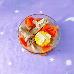 百合胡萝卜鹅汤的做法[图]