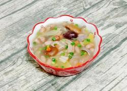 瑶柱花生猪肚汤