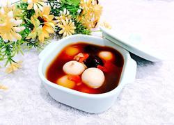 枸杞酒酿丸子汤