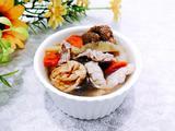 口蘑枸杞瘦肉汤的做法[图]