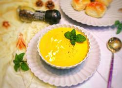 西式奶油南瓜汤