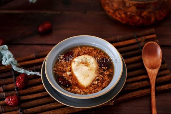 红糖酒酿卧鸡蛋