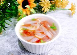萝卜丝虾米汤