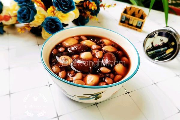 四红糯米圆子汤