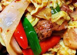 泡菜炒嫩牛肉