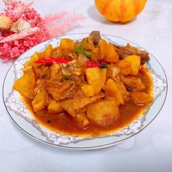 雞腿燒土豆的做法[圖]
