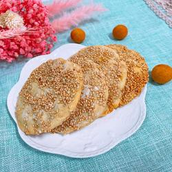 芝麻地瓜餅的做法[圖]