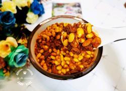 牛肉煨黄豆