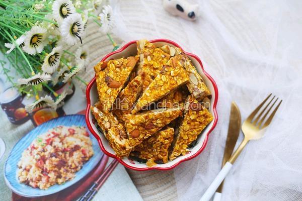 南瓜燕麦块