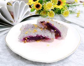 桂花西米紫薯糕[图]