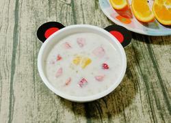 奶香水果燕麦粥 (宝宝辅食)