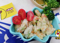 10个月宝贝生鲜鲜虾土豆条,富含虾青素!美味易消化,小鹿优鲜