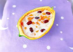 牛奶红枣木瓜炖梨
