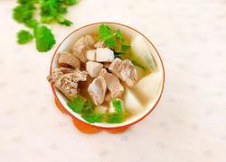 白萝卜豆腐羊肉汤