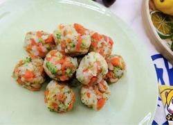 12个月宝贝生鲜,杂蔬鹅肝小饭团【小鹿优鲜】