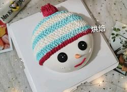 冬天里可爱的小雪人