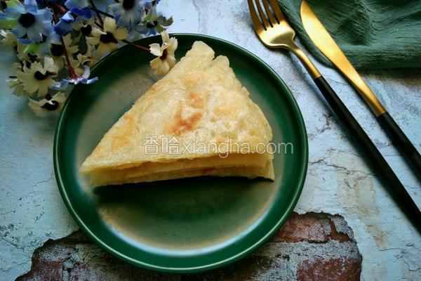 白芝麻面粉饼