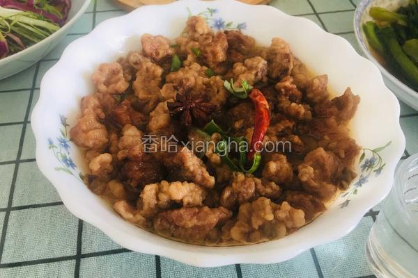 碗蒸小酥肉