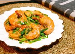 咸鸭蛋黄炒青虾