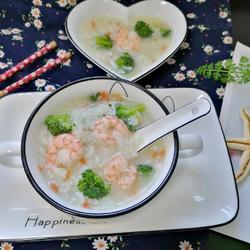 蔬菜虾仁粥的做法[图]