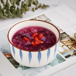 紫薯银耳汤的做法[图]