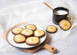 咸蛋黄口味的荷包蛋曲奇