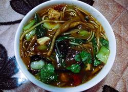 农家黄花菜粉汤