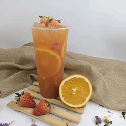 喜茶同款|橙香草莓果茶的做法[图]