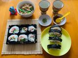 日式荞麦冷面与芝士寿司爱心便当的做法[图]