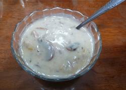 鸡茸蘑菇汤