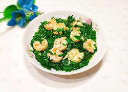韭菜炒南美白对虾
