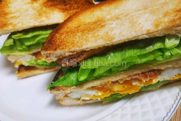 超级省时5分钟快捷三明治早餐午餐