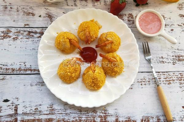 黄金土豆虾球