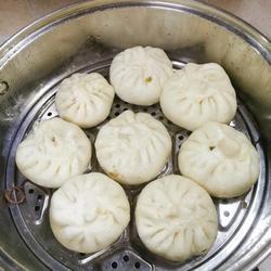 豆腐粉条韭菜包子