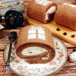 巧克力蛋糕卷的做法[图]