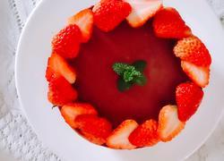 草莓酸奶巧克力慕斯
