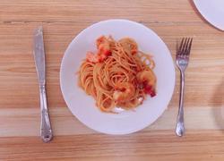 意大利鲜虾面