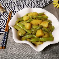 土豆燒四季豆的做法[圖]