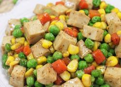 时蔬千叶豆腐