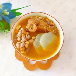 花生黃豆白蘿卜雞湯的做法[圖]