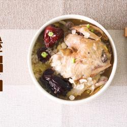 """吃上這樣一碗""""只滋補,不長肉""""的參雞湯,既暖胃又暖心的做法[圖]"""