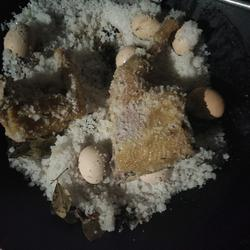 乡下盐焗鸡的做法[图]
