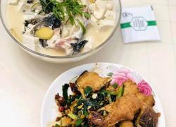 红烧鱼块 鱼头豆腐汤